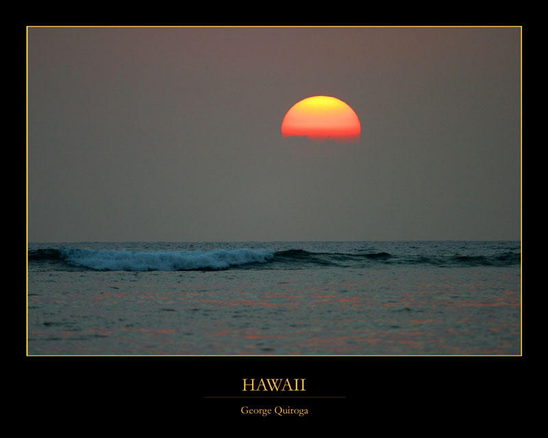 Hawaii - Sunset by QNetX