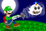Luigi meets Wisp