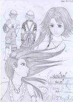 Connected - Final Fantasy X-2 by hikariyumi92
