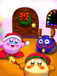 Kirby Wishes you a Merry Christmas!
