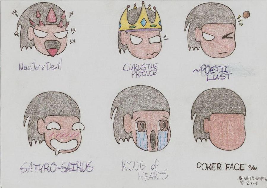 Chibi Emotions By Zaizotsu On DeviantArt