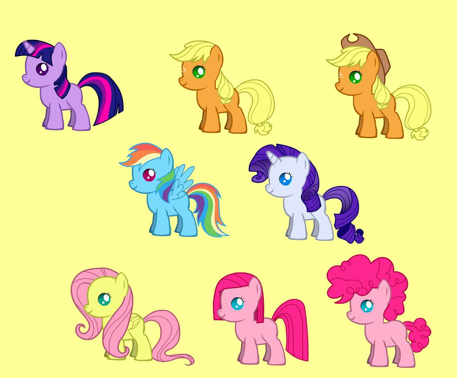 My Little Pony as Babies