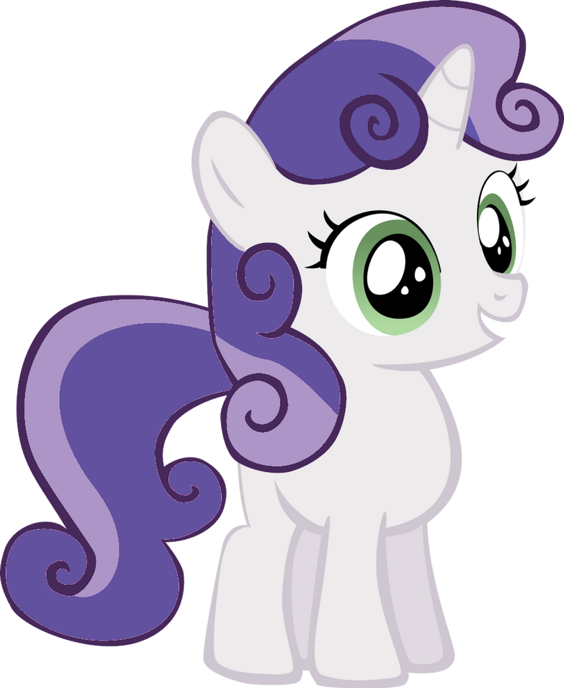 My little pony rarity and sweetie belle - photo#12