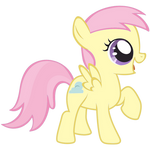Cotton Cloudy as Fluttershy by Jdueler11