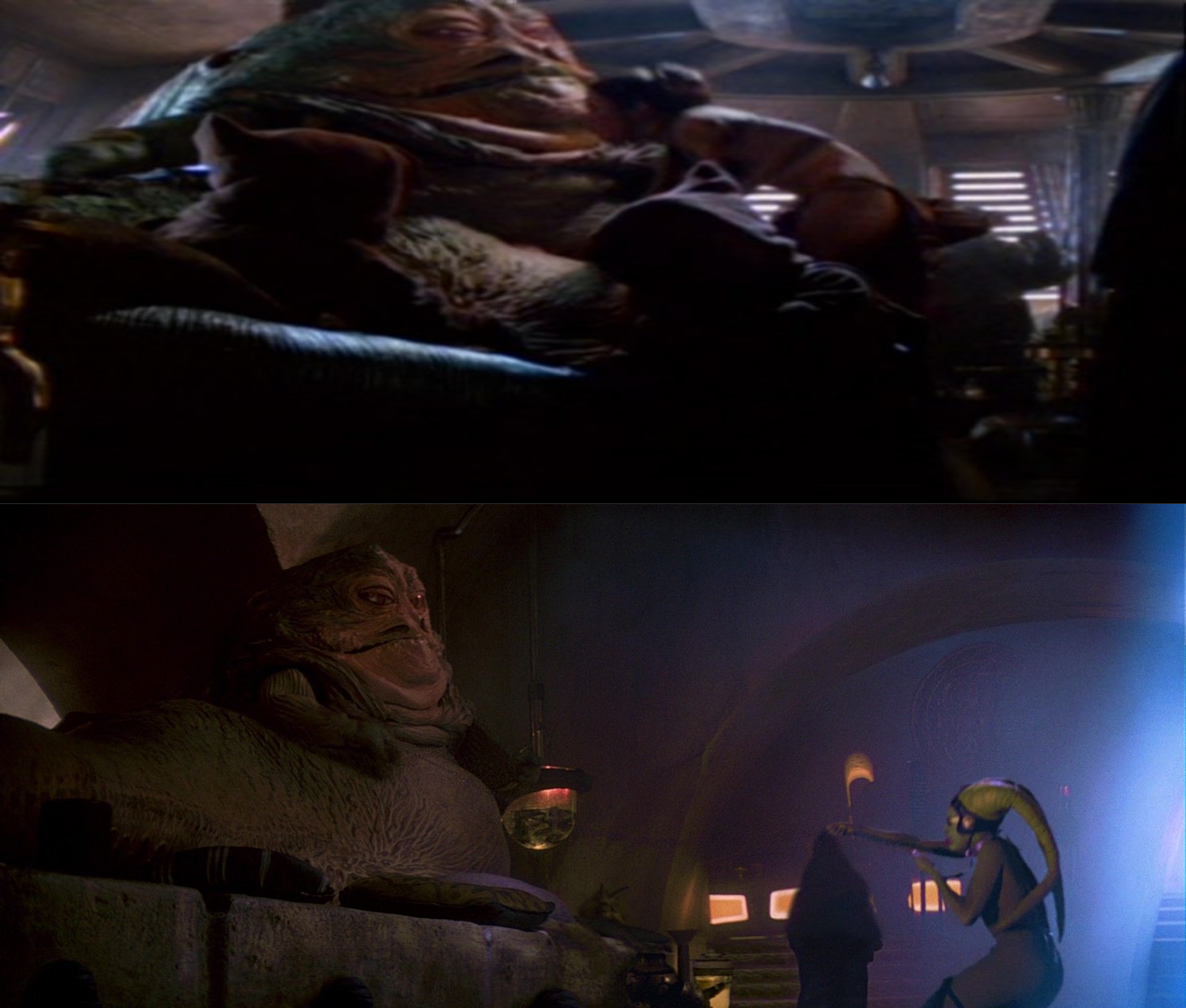 Another difference between Leia and Oola by Jdueler11 on ... Jabba The Hutt And Oola