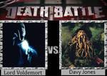 DEATH BATTLE Lord Voldemort vs. Davy Jones