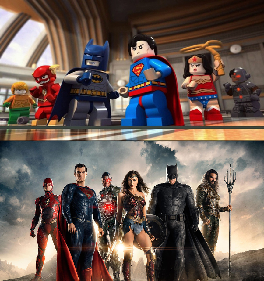 Lego Justice League by Jdueler11