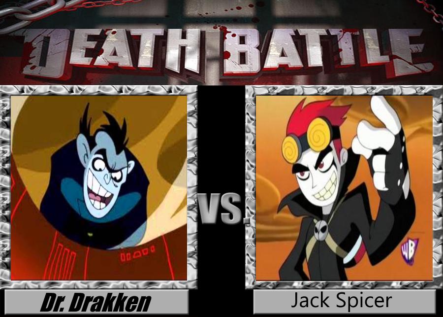DEATH BATTLE Dr. Drakken vs. Jack Spicer by Jdueler11