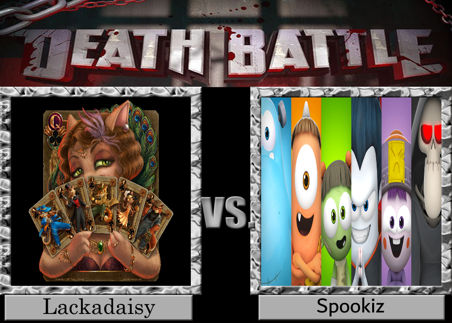 DEATH BATTLE Lackadaisy vs. Spookiz by Jdueler11