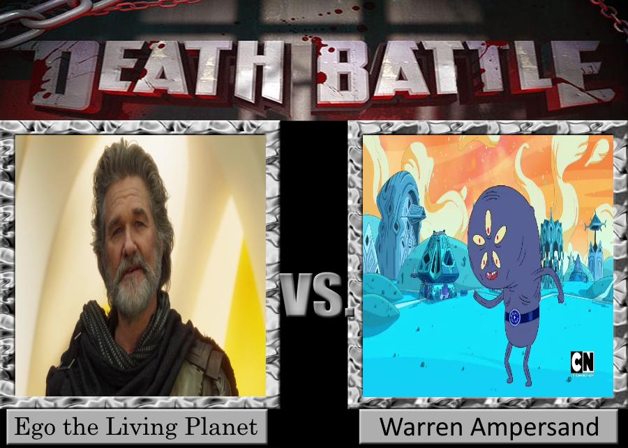 DEATH BATTLE Ego vs. Warren by Jdueler11