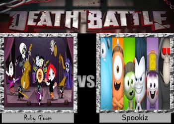 DEATH BATTLE Ruby Gloom vs. Spookiz by Jdueler11