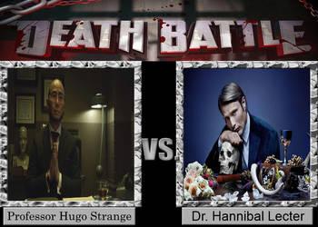 DEATH BATTLE Hugo Strange vs. Hannibal Lecter by Jdueler11