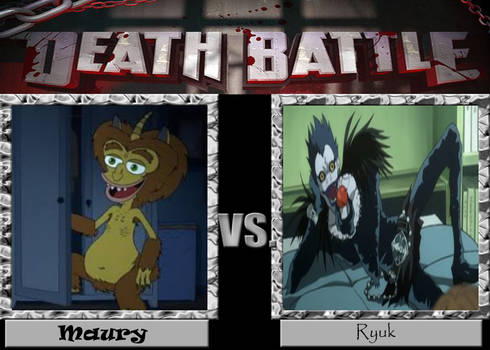 DEATH BATTLE Maury vs. Ryuk