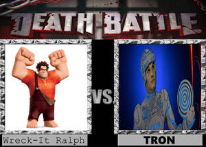 DEATH BATTLE Wreck-It Ralph vs. Tron