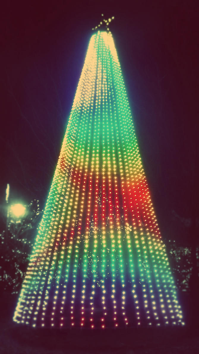 Gradient Tree by BittersweetObsession
