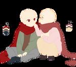 Scarf couple