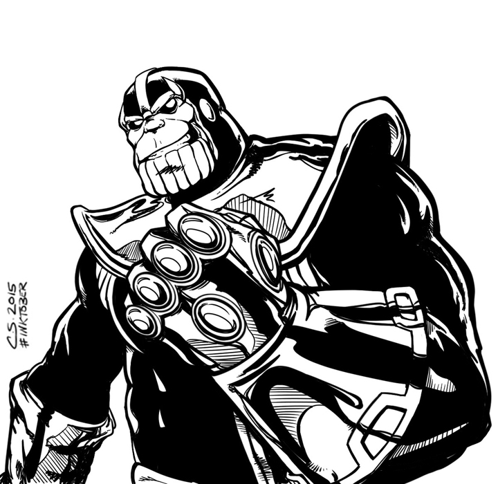 Thanos by Citrusman19