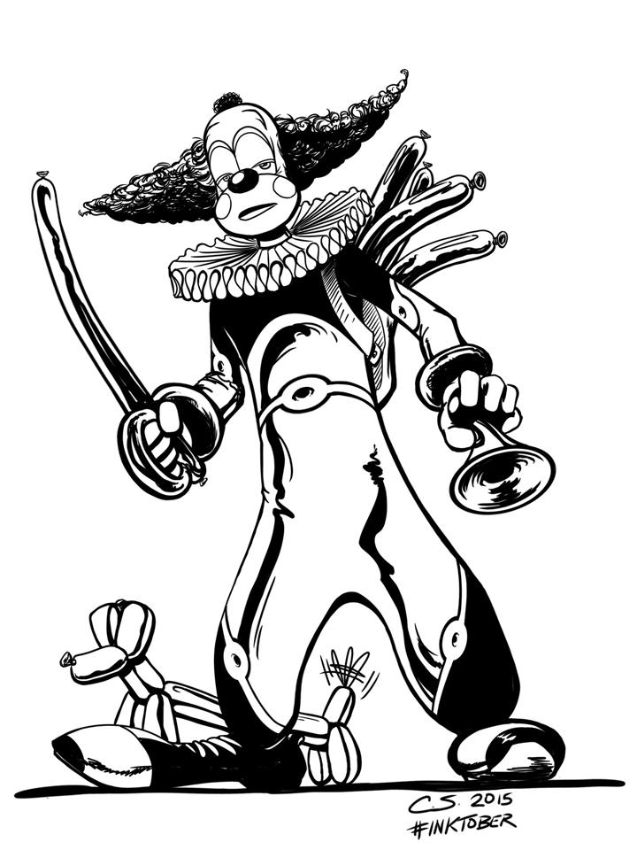 Obo the Clown by Citrusman19