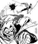 Spider-man and Hobgoblin