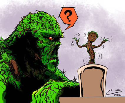 GRoots Of The Swamp Thing by Citrusman19