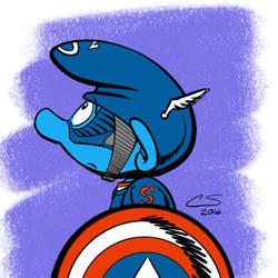 Captain Smurfmerica by Citrusman19