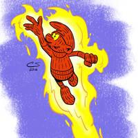 Smurfan Torch by Citrusman19
