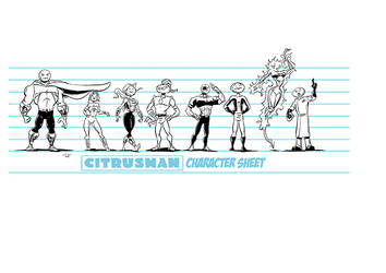Citrusman New Style Character sheet by Citrusman19
