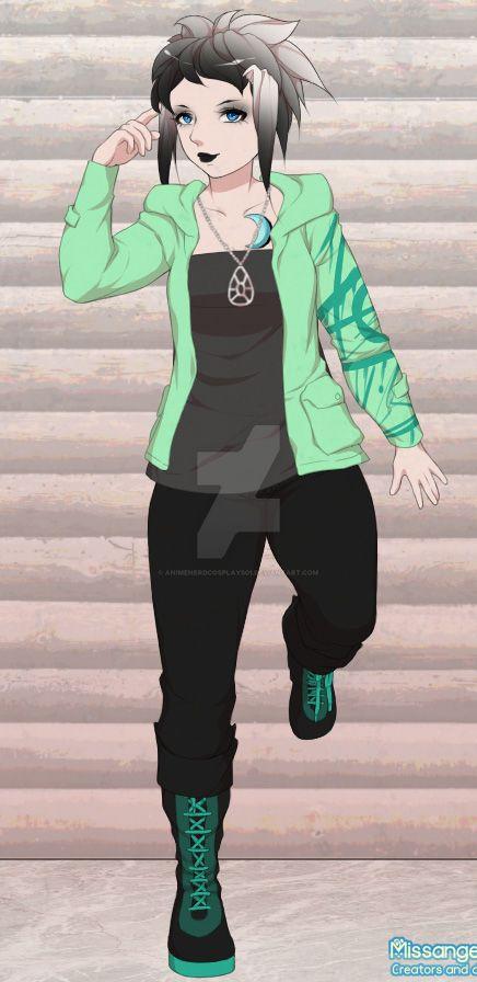 Sylvie Mathews {Non-Fandom OC} by AnimeNerdCosplays01
