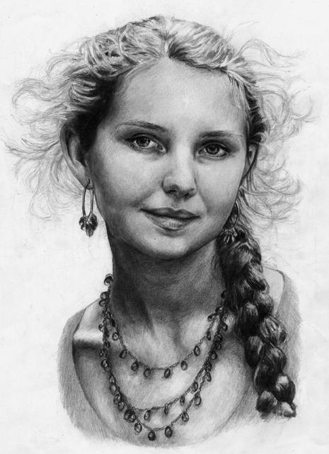 Self-Portrait by EcaterinaToutok