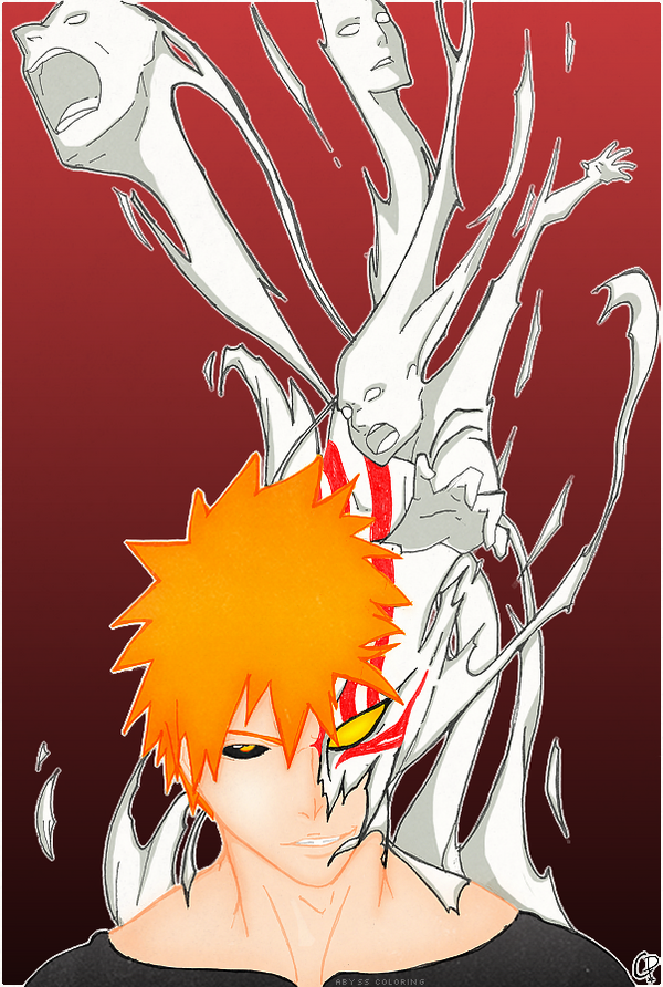 Ichigo Hollow by Abyss-Chaos
