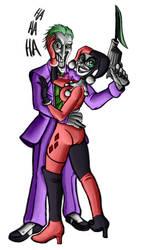 Joker and Harley Version 2 by BigOx2daBox