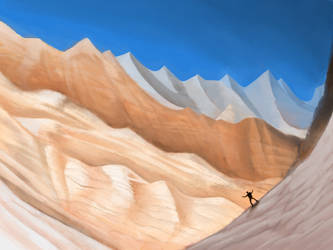 Red Ice Mountains by BigOx2daBox