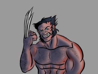 Wolverine video test by BigOx2daBox