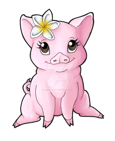 Lo Pig by kashuarashi