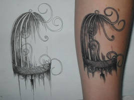 Tattoo for a Friend by BettyPimm