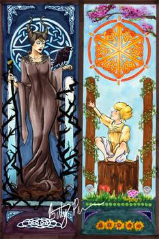 Maleficent Art Nouveau