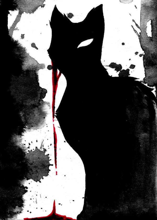 The Black Cat - Edgar Allen Poe by BettyPimm