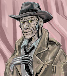 Nick Valentine the Synth by shivikai