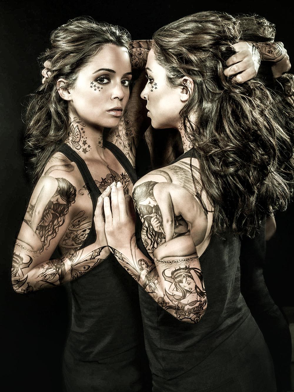 Eliza Dushku Tattooed by ThreeProngs