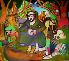 St. Francis and Friends by pauledelstein