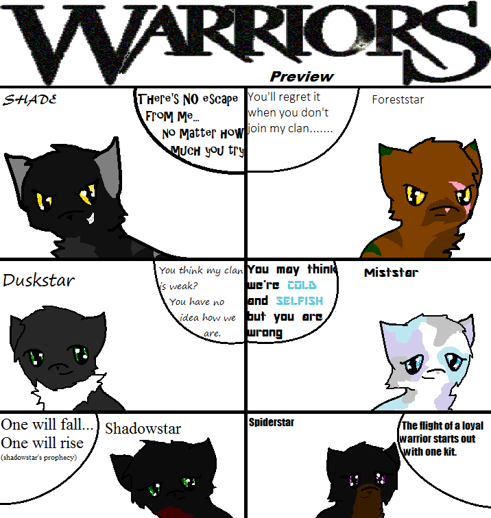 How to Draw Cartoon Warrior Cats How to Draw Warrior Cats Anime