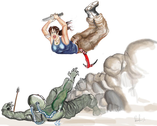 Lara Attack!! (Incomplete) by Kisielo