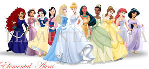 2012 Disney Princess Line-Up