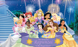 Rapunzel joins the Royal Court