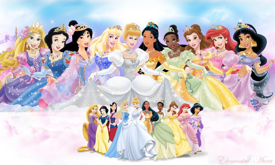 10 Official Disney Princesses