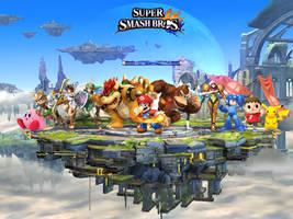 New Super Smash Bros by Elemental-Aura