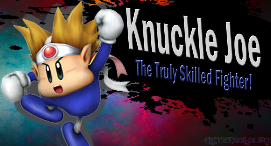 Knuckle Joe Ssb4 Request By Elemental Aura On Deviantart