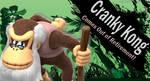 Cranky Kong SSB4 Request