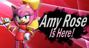 Amy Rose (Sonic Boom) SSB4 Request