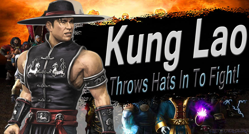 Kung Lao SSB4 Request by Elemental-Aura
